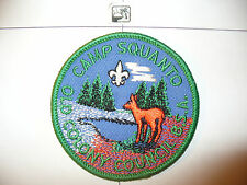 1970s Camp Squanto,NEW, Old Colony Council,pp,GRN, OA 164 Tisquantum,518,MASS,MA