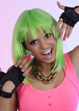 Nicki Minaj Style Short Neon Green Wig