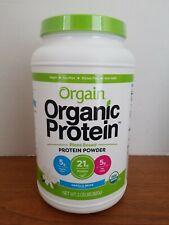Orgain Organic Protein Powder 2.03lb Low Carb Vanilla Bean New Sealed Fresh