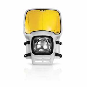 Acerbis Elba Enduro Motor Bike Motorcycle Front Light Headlight - White