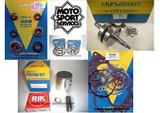 Suzuki RM 85 02-15 Mitaka Engine Rebuild Kit Crank Piston C Mains Gasket Seal
