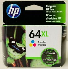 New Genuine HP 64XL Color Ink Cartridge Envy 6255 6258 7120 7130 7800