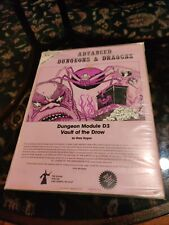 Vintage 1978 - Dungeon Module D3 - Vault of the Drow