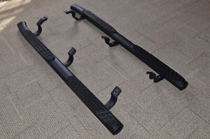 2010-2019 Toyota 4Runner Black Tube Step Running Boards OEM