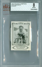 1926 SPALDING AD BACK  PETE MOESKOPS BICYCLE OLYMPICS BGS 8 SECOND FINEST *