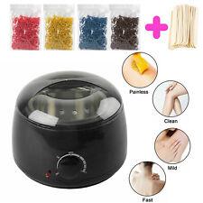 400g Wax Wachsgerät Set Wachswärmer Haarentfernung Wachserhitzer Wachs Bohnen
