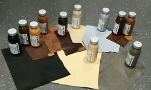 Bentley Leather Dye Built in Sealant Colourant Repair Colour Paint Restore