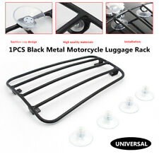 Motorcycle Metal Front Fuel Tank Bracket Backpack Pack No Drilling Luggage Rack