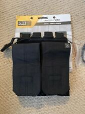 Ex Police Double Magazine Pouch. Molle. Black. New. 1210.