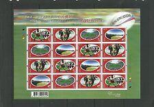 Hong Kong 2004 Rugby Sevens sheetlet, SG1235a x4 mnh