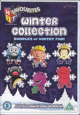 Hit Favourites Barney Fireman Sam Bob the Builder Thomas the Tank Engine  R2 DVD