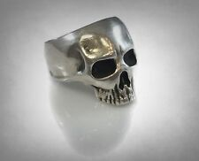 925 Ring by Ezi Zino Vintage Skull Solid Sterling Silver