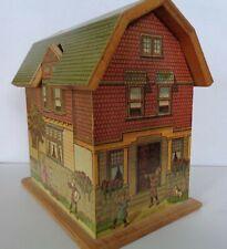 Vintage McLoughlin Cameron Perry Repro Pretty Village Gambrel Roof 12