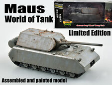 WWII German maus mouse limited edition Tank of world 1:72 no diecast Easy Model