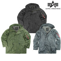 Alpha Industries XRay US Flight Jacket Lightweight Parka N3B Military Light Coat