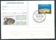 2001 ITALIA CARTOLINA POSTALE VASTOPHIL ANNULLO FDC - Y001