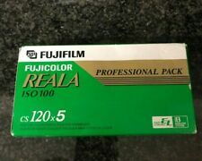5x Fuji Professional Reala 100  120 film expired film