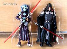 "AUTHENTIC Star Wars 3.75"" Force Unleashed DARTH PHOBOS GALEN MAREK StarKiller"
