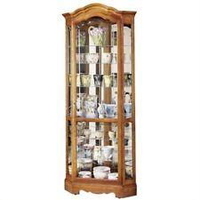 Howard Miller Jamestown II 680-250 Corner Curio Cabinet