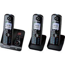 Panasonic KXTG8163ALB 3-Line Cordless Telephone