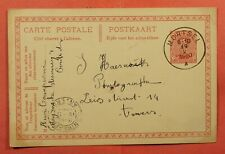 Dr Who 1920 Belgium Postal Card Mortsel Cancel C226872