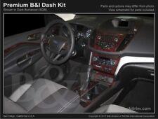 Dash Trim Kit for FORD ESCAPE 2017 carbon fiber wood aluminum
