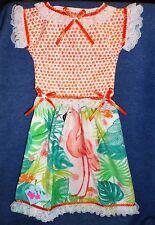 **NEW** Handmade Tropical Beach Flamingo Oven Door Dress Kitchen Hand Towel #638