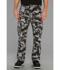 MINT Men's Levis Ace Cargo Grey Black Camo Cotton Twill Pants Size 32 x 30