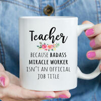 Gift For Teacher - Funny Teacher Appreciation Coffee Mug