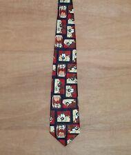 Tazmanian Devil (TAZ) - Vintage 90's - Fun Cartoon Novelty Neck Tie