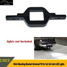 Tow Hitch Mounting Bracket Backup Reverse Light Offroad Truck For 3x3inch Lamp