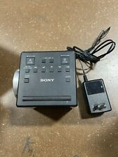 Sony ICF-C1PJ AM/FM Dual Alarm Clock Radio Nature Sound Time Projection