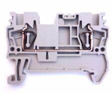DIN Rail Terminal Blocks 40 Qty AK1.5 Dinkle 14 AWG Gauge 15A 600V Screwless