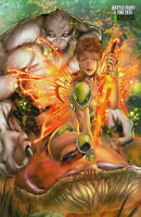 Battle Fairy & the Yeti #1 Marat Mychaels Retailer Variant