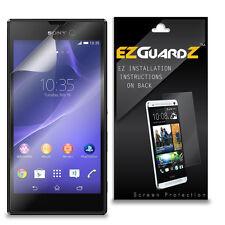 2X EZguardz LCD Screen Protector Skin HD 2X For Sony Xperia T3 (Ultra Clear)