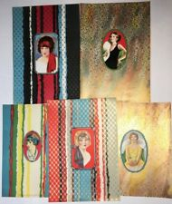 RARE Advertising Salesman Sample LOT - 1920s Wrapping Paper Pin up Girl? Vintage