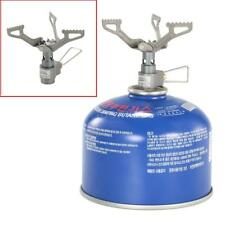 Mini One-Piece Titanium Alloy  BRS-3000T 2700W Manual Burner Folding Gas Stove