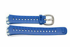 NIKE TRIAX SPEED 10 SUPER BLUE REPLACEMENT RUBBER WATCH BAND WR0080-428
