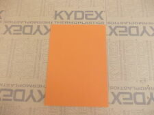 KYDEX T SHEET 2MM A3 SIZE SHEATH HOLSTER MATERIAL ORANGE 22253 P3 (AYERS)