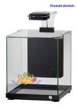 A220B schwarz Glas-Aquarium Komplett-Set 9 l LED-Beleuchtung und Filter ATMAN