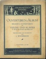 L. WINDSPERGER - OUVERTÜREN-ALBUM - Violinstimme