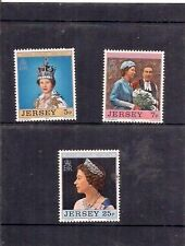 Jersey-Silver Jubilee 1952-1977 timbres.