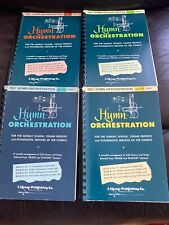 Hymn Orchestration For Sunday School, Young People  COMPLETE 4 BOOK SERIES