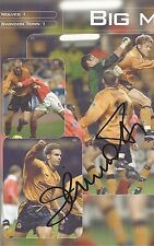 WOLVES: HAVARD FLO SIGNED 10x6 OFFICIAL MATCHDAY PROGRAMME PICTURE+COA