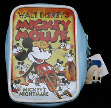 """Japan Mickey Mouse Mickey's Nightmare 5.5"""" Zippered Pouch Bag from Ufo Claw Game"""
