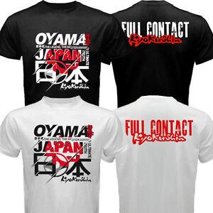New Japan Mas Masutatsu Oyama Full Contact Kyokushin Kai Dojo Karate T-shirt