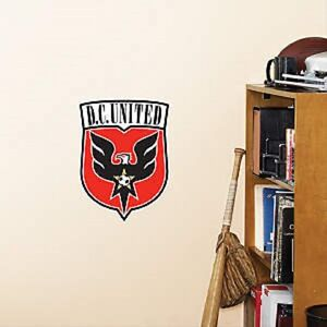 """D.C United LOGO 9""""x12"""" Fatheads Wall Decal Free Shipping"""
