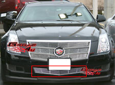 Fits 2008-2013 Cadillac CTS Lower Bumper Billet Grille Grill Insert