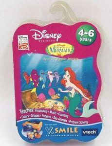 VTECH V.Smile Disney The Little Mermaid Ariel's Majestic Journey Smartridge NEW*