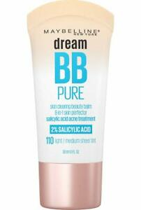 MAYBELLINE Dream Pure BB Cream - Light/Medium 110